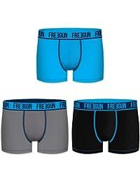 Freegun Bóxers para Hombre Algodon Pack de 3