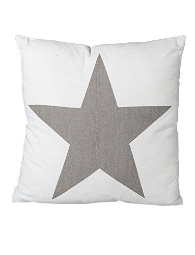 Lovely y acogedor calidad 100% algodón cojines Chic con estrellas (40x 40cm)