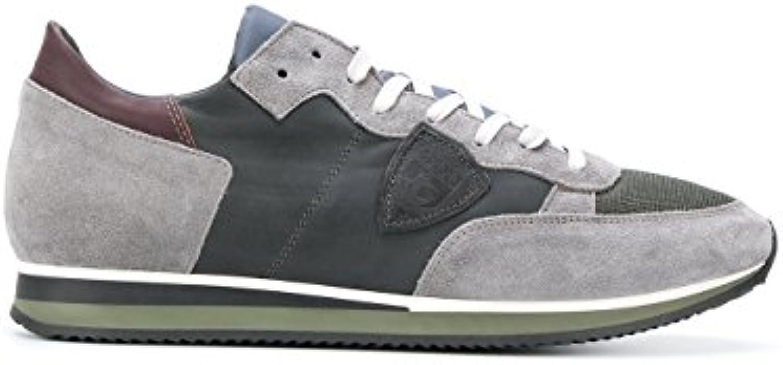 Philippe Model Herren TRLUWZ19 Braun/Schwarz Wildleder Sneakers