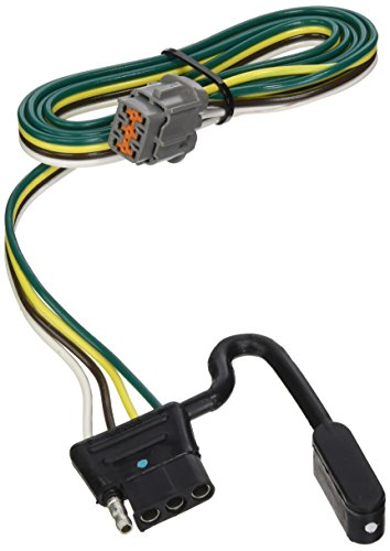 Tow Ready 118263 Replacement OEM Tow Package Wiring Harness (4-Flat) for 2005-2012 Nissan Frontier/Pathfinder/Xterra/ 2009-2012 Suzuki Equator - Frontier Nissan 2009
