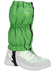 Salewa Junior Gaiter - Polainas para hombre, color verde, talla única