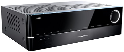 Harman/Kardon AVR 151S 375 Watt 5.1-Kanal Audio/Video Receiver (5 x 45 Watt Verstärker) mit 4 x HDMI, Internetradio und USB-Anschluss - Schwarz (Kardon Audio-receiver Harmon)