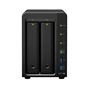 Synology DS716+ DiskStation 6TB NAS Server 2-Bay 2x 3TB
