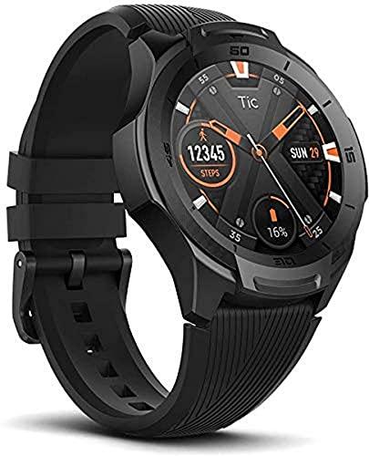 Oferta de Ticwatch S2 Smartwatch Reloj Inteligente y Deportivo con Sistema Operativo Wear OS by Google 1.39 AMOLED GPS Integrado, Batería 415 mAh 5ATM Impermeable Duradero, Compatible con iPhone y Android