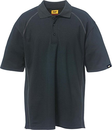 Caterpillar Cat Polo Advanced, Blau, Größe XL Black