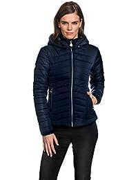 VB Woman's - Chaqueta entallada para mujer (capucha desmontable, incluye bolsillos)
