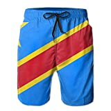 Photo de Fashion Men's Beach Pants Congo Flag Men's Beachwear Shorts Beach Pants Swim Trunks,M par ARTOPB