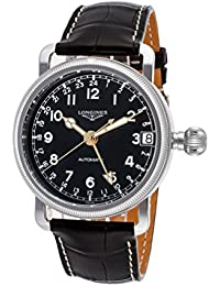 Longines Heritage Avigation Automatic Stainless Steel Mens Strap Watch L2.778.4.53.2