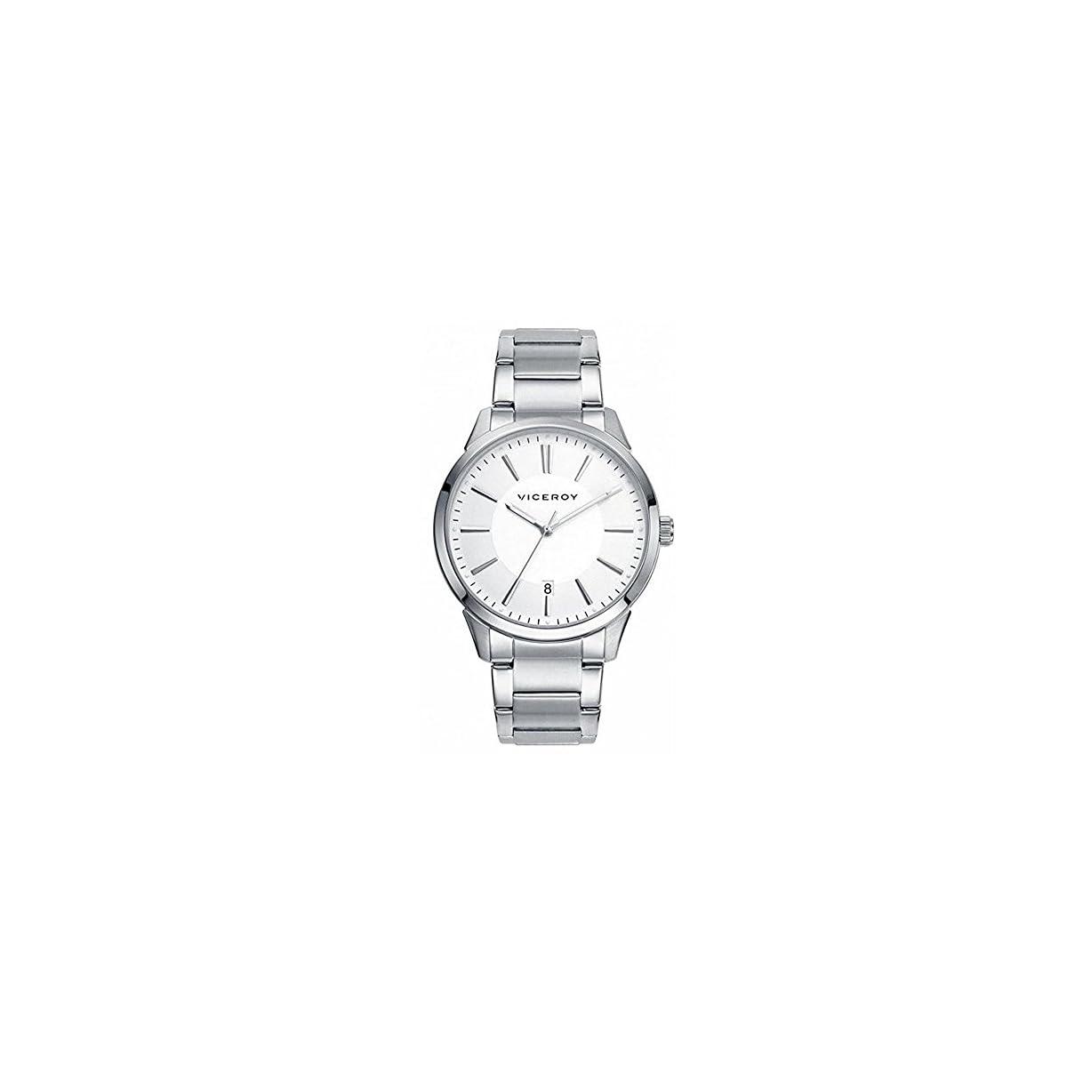 41t0wWzSjKL. SS1200  - Viceroy Reloj Analogico para Mujer de Cuarzo con Correa en Acero Inoxidable 46661-07