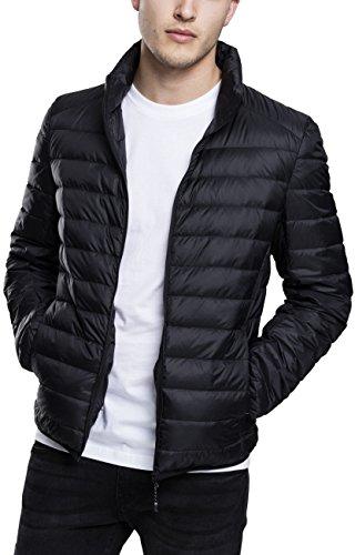 Urban Classics Herren Jacke Basic Jacket, Schwarz (Black), XX-Large