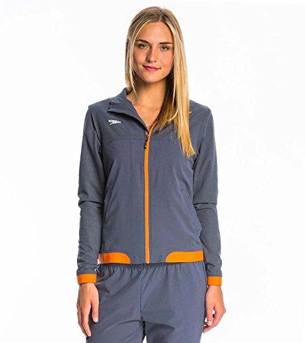 Speedo Damen Weiblich Tech Warm Up Jacke, damen, Speedo Orange (Hose-anzug Jessica)