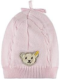 Steiff Baby-Mädchen Mütze Strick 6712020