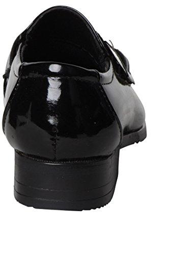 schwarze Schuhcreme Jungen Glossy Black