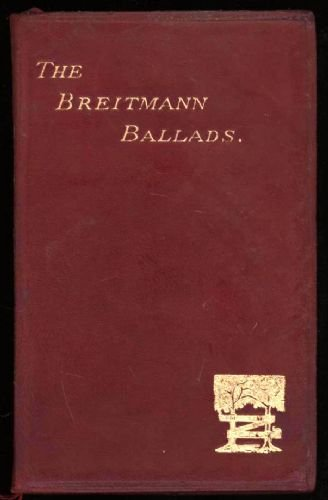The Breitmann Ballads