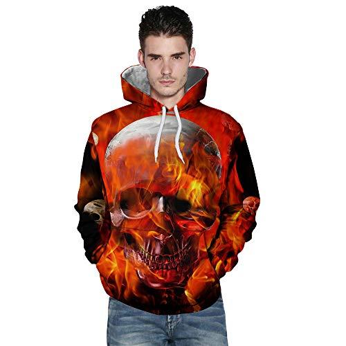 UFACE liebt 'Casual Herbst Winter 3D Printing Langarm Hoodies Sweatshirt Bluse