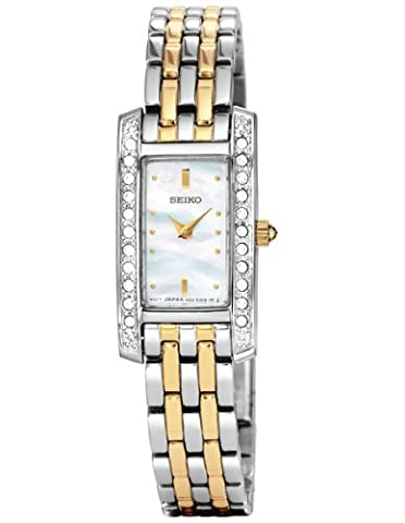Seiko Ladies Stone Set Bracelet Watch SUJG55P9