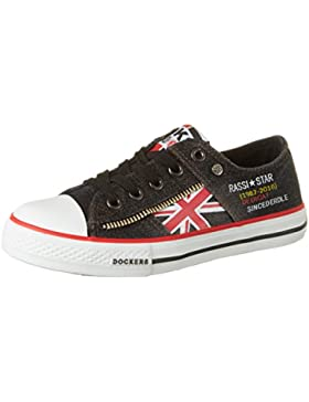 Dockers by Gerli Unisex-Kinder 40rt601-730100 Low-Top