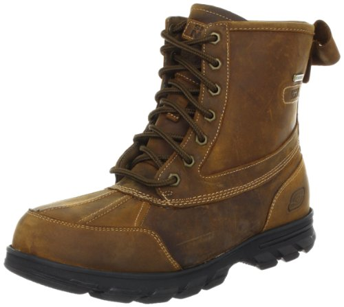 Skechers Men's Climatic Boots, Brown - Braun (CDB), 6 UK