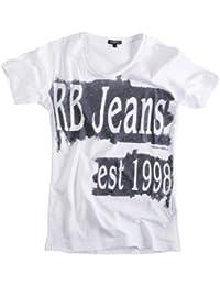 REDBRIDGE/Cipo & Baxx – Camiseta para hombre camiseta con texto y piedras 2026