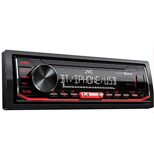 JVC kd-x352bt Autoradio numérique, Noir