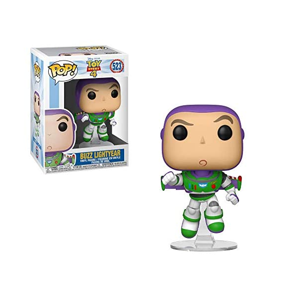 Funko Pop Buzz Lightyear (Toy Story 4 – 523) Funko Pop Disney