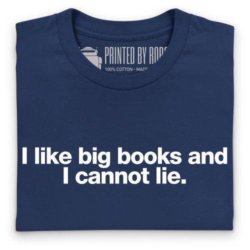 Big Books T-Shirt, Herren Dunkelblau