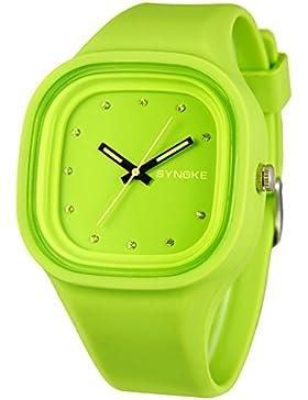 Children's watch wasserdicht leuchtend jelly quartz-D