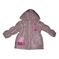 Peppa Pig Girls Coat Winter Jacket Padded Official 1-6 Years Old