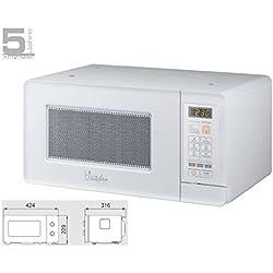 bkitchen da incasso–mini forno a microonde 600W, elettronica, 15L, bianco, Mini 200W