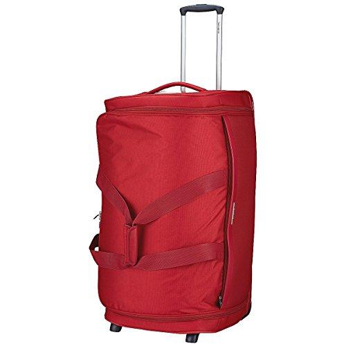 Samsonite Dynamo Bolsa de Viaje con Ruedas 77/28, 77 cm, 128 L, Color Rojo