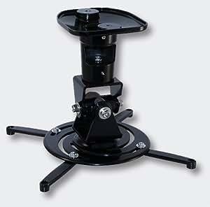 Support plafond de vidéo-projecteur inclinable, tournant, pivotant - Charge jusqu'à 10 kg