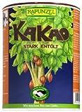 Rapunzel Bio Kakaopulver natural, stark entölt, 10-12%, 1er Pack (1 x 250g) - BIO