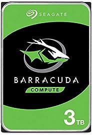 Seagate BarraCuda 3TB Internal Hard Drive HDD – 3.5 Inch SATA 6Gb/s 5400 RPM 256MB Cache for Computer Desktop