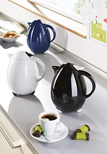 Leifheit 28300 Columbus - Jarra termo (1 litro), color blanco