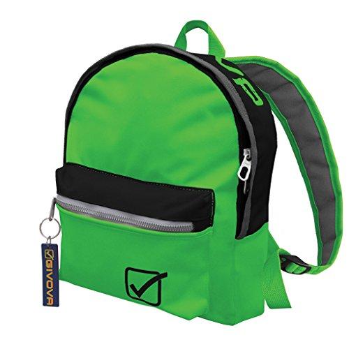 Rucksack Givova Univeristy Jeans Bags Fitnessstudio Fitness Training Schule 2016verschiedene Farben 31x 11x 25cm 3410 verde fluo/nero