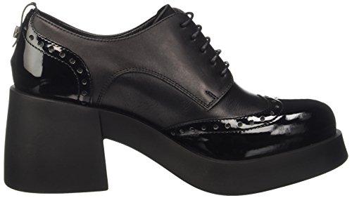 Cult Abba, Oxfords Femme Noir - noir