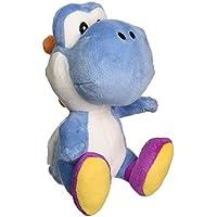 Little Buddy Peluche relleno Yoshi en azul oscuro Super Mario Bros, 15,24 cm