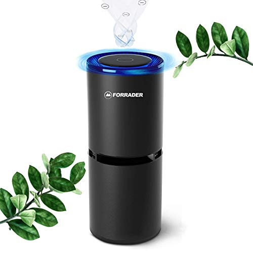 Car Air Purifier, Portable Car Ionizer Air Cleaner for Automobile, Small Room in Home, Office, 360 Degree Purification, Release Negative ion, Remove Dust, Smoke, Odors, USB Charging