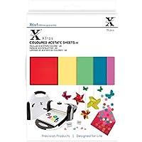 Xcut Xtra Acetato de Hojas de Colores, A5, 15Unidades