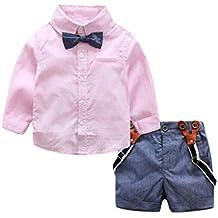 Ropa bebe, Culater Conjuntos de Trajes Niño 0~24 meses Camisas + Pantalones