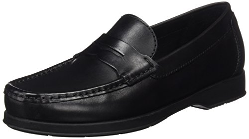 Geox Herren U Dallaghas 2 Fit A Slipper, Schwarz (BLACKC9999), 42 EU
