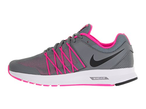 Nike 843882-002, Scarpe da Trail Running Donna COOL GREY / BLACK-PNK BLST-WHITE