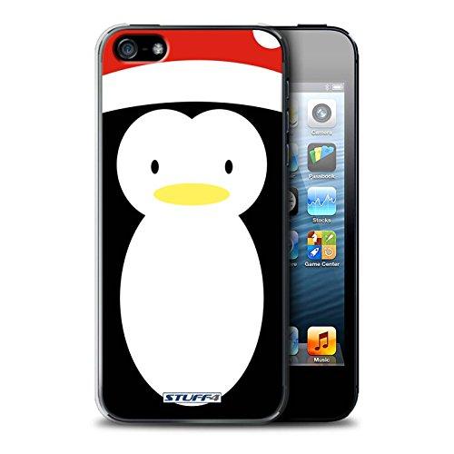 Stuff4 Hülle / Case für Apple iPhone 7 Plus / Rentiere Muster / Weihnachten Character Kollektion Pinguin