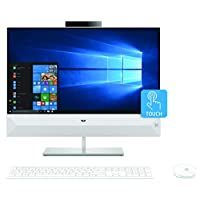 HP All In One Envy 24 Touch 24 Intel 6-Core i7-8700t, 8GB, 1TB, 24 FHD 1920x 1080 Touchscreen, MX GeForce 130 2GB, Win 10, Eng- Arabic Keyboard, White