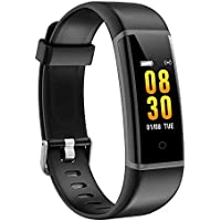AUSUN Fitness Tracker Waterproof Activity Tracker with Heart Rate Monitor GPS Running Pedometer Step Counter Wristband Sleep Monitor Calorie Counter Watch, FT901HR Smart Bracelet for Kids Women Men
