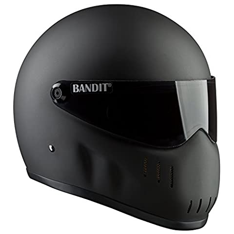 Bandit XXR – New Bike Helmet – For Streetfighter, Mad Max, dull black, medium