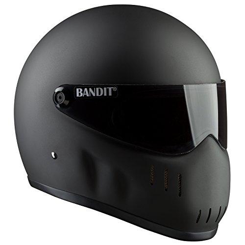 Bandit Helmets Motorradhelm XXR für Streetfighter, Größe:L (59-60);Farbe:mattschwarz
