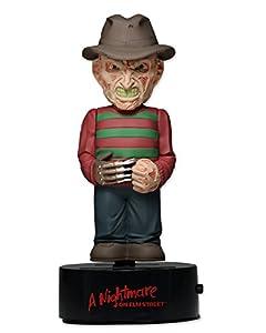 NECA - Pesadilla en la Calle Elm - Freddy Krueger Cuerpo Aldaba Solar Powered Bobble, 15 cm - Figura Pesadilla en Elm Street Freddy Krueger (15cm)