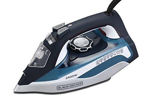 Black + Decker BD BXIR2401IN 2400-Watt Steam Iron (Blue)