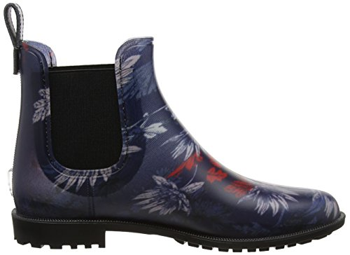 Tom Joule Damen Rockingham Gummistiefel Blue (French Navy Fay Floral)